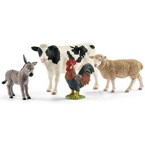 zwierzęta na farmie 42385 marki Schleich