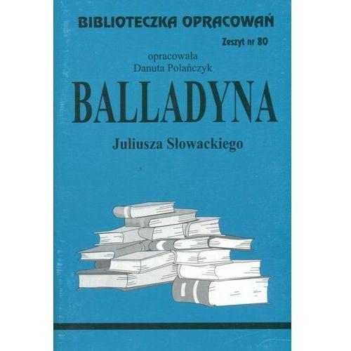 Biblioteczka Opracowań Balladyna Juliusza Słowackiego (2012)
