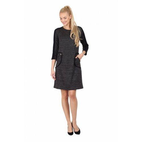 Sukienka model m 1029 black marki Margo collection