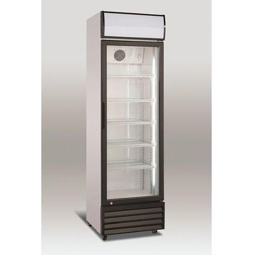 Szafa chłodnicza przeszklona   338l   575x606x(h)1975mm marki Resto quality