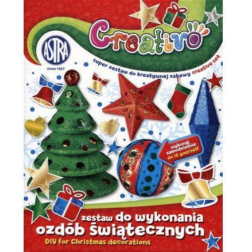 Astra papiernicze Zestaw do wykonywania ozdób świątecznych astra