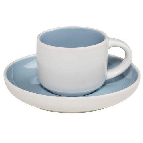 Maxwell & williams - tint - filiżanka do espresso, biało-niebieska - niebieski (9315121754055)