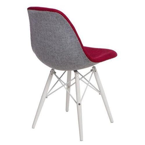 Krzesło P016W Duo czer. szare/white (5902385724661)