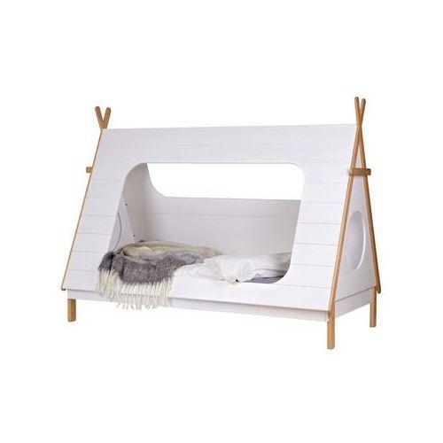 Woood łóżko w kształcie namiotu tipi 380100-w