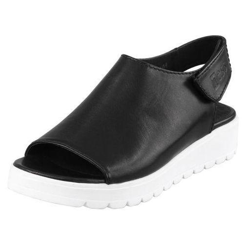 Sandały Nessi 66605 - Czarne 3 (czarna wkładka), kolor czarny