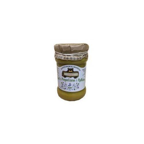 Kosecki Miód z propolisem i pyłkiem 375 g kaszubskie miody