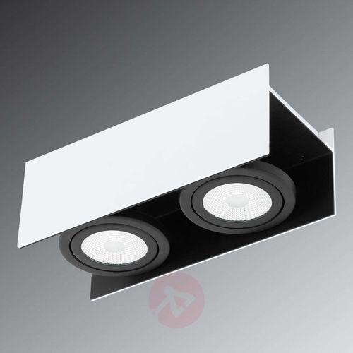 Eglo 39316 - led oświetlenie punktowe vidago 2xled/5,4w/230v