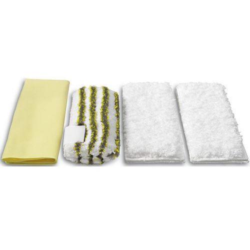 Karcher Zestaw ścierek z mikrofibry  do łazienki (4 sztuki) + darmowy transport! + zamów z dostawą jutro! (4039784169852)