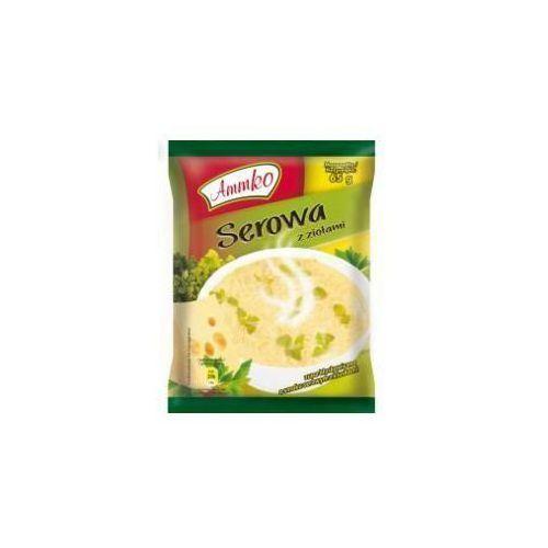 Zupa błyskawiczna Serowa z ziołami 65 g Ammko (5901882012981)