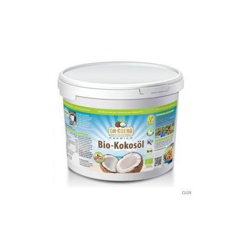 Olej kokosowy tłoczony na zimno BIO 3 litry - Dr Goerg