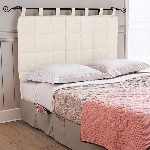 Pikowany zagłówek łóżka