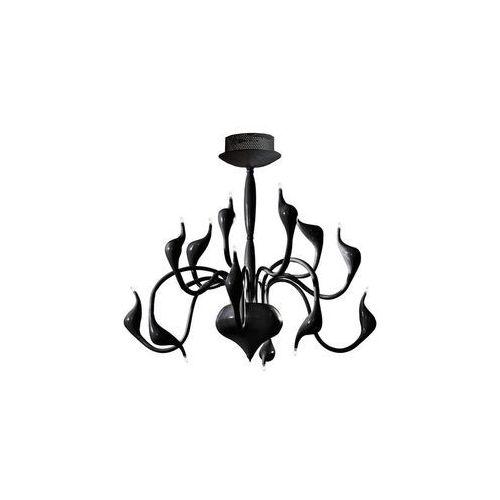 Azzardo lampa wisząca SNAKE czarny MD 6230-12 BK, MD 6230-12 BK