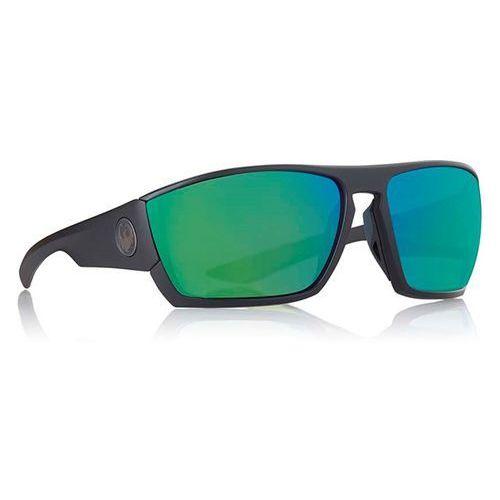 Okulary słoneczne - cutback ion matte black green ion (007) rozmiar: os marki Dragon
