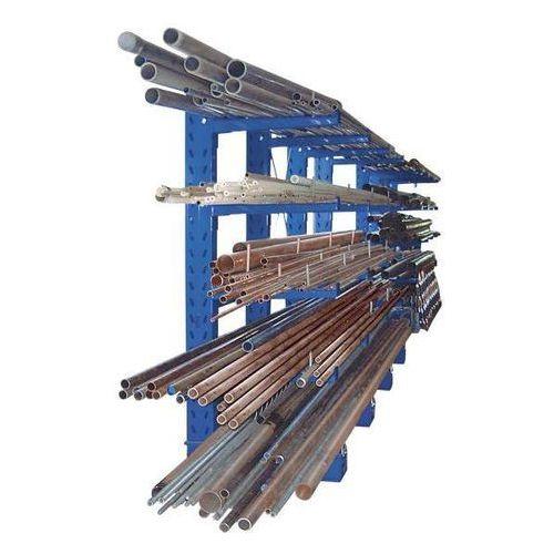 Regał wspornikowy, konstrukcja ciężka, wys. stojaka 2500 mm, regał dodatkowy, je