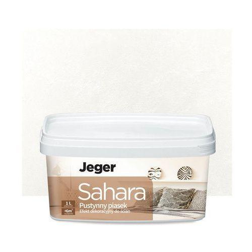 Efekt dekoracyjny sahara 1 l nicola piaskowany marki Jeger