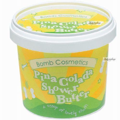 pina colada - myjące masło pod prysznic 365ml marki Bomb cosmetics