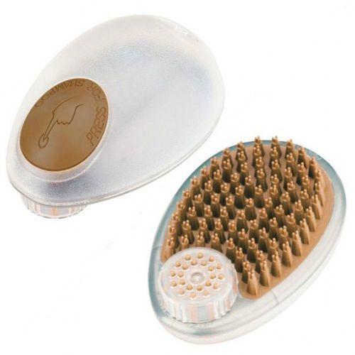 Oster - szczotka z dozownikiem szamponu, szamponiera do kąpieli i masażu zwierząt