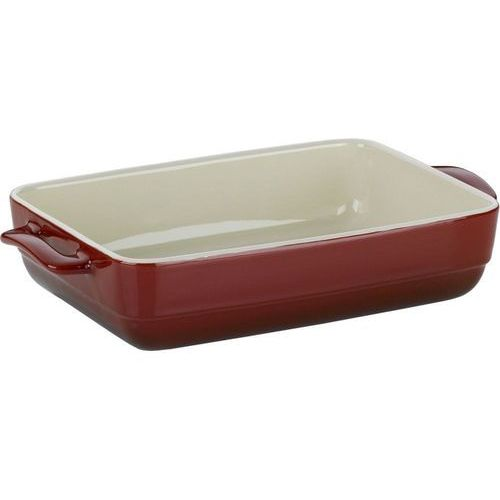 Kela Ceramiczne naczynie do pieczenia MALIN 19 x 32 cm, czerwony (4025457118623)