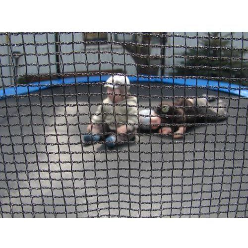 Siatka ochronna do trampoliny 366cm, 12Ft, wysoka 183 cm.