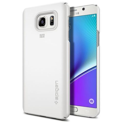 Spigen Nakładka thin fit do galaxy note 5 biały (8809466640179)