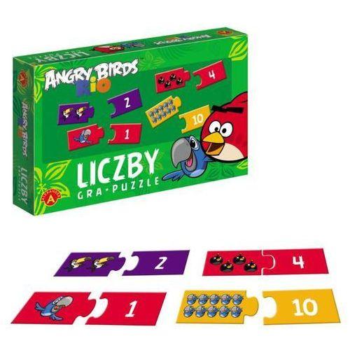 Alexander Gra-puzzle liczby angry birds rio (5906018009781)
