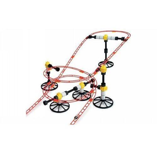 Quercetti Skyrail roller coaster - tor z kulkami, 150 elementów - , quercetti (8007905064306)