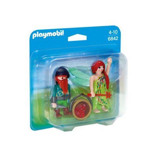 Playmobil PRINCESS Duo pack elf i krasnal 6842 - BEZPŁATNY ODBIÓR: WROCŁAW!