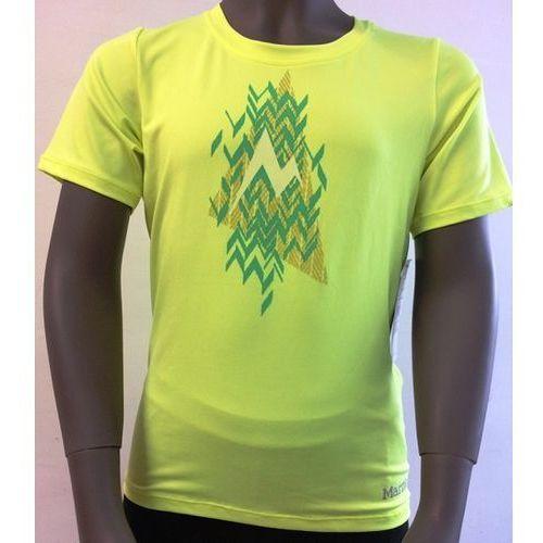 Koszulka dziewczęca MARMOT Post Time Tee SS Hyper Yellow Heather