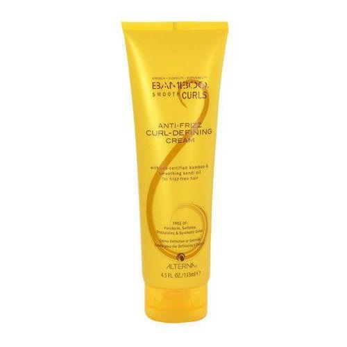 Alterna Bamboo Smooth Curls Anti-Frizz Curl-Defining Cream 133ml W Krem do włosów