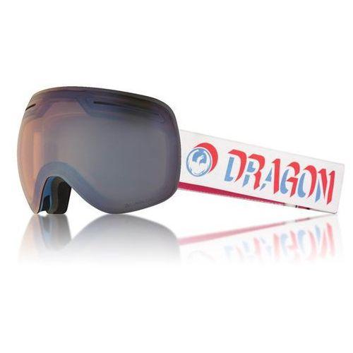 gogle snowboardowe DRAGON - X1 Three Verge/flblue+Dksmk (867) rozmiar: OS