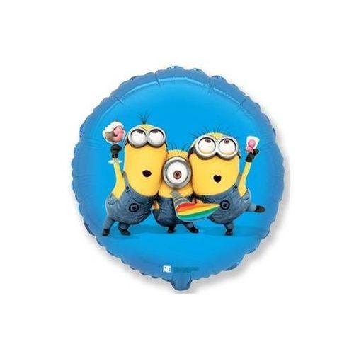 Balon foliowy minionki party - 45 cm - 1 szt. marki Go