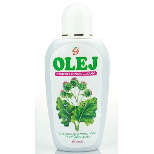 Olej z korzenia łopianu z ziołami 150ml marki Nami