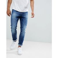 Tom Tailor Slim Fit Jeans In Mid Blue Wash - Blue, jeans
