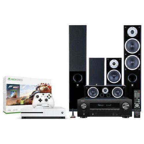 DENON AVR-X1500H + RAPTOR 5/1/VOKAL + XBOX -50% - Konsola Xbox z zestawem kina domowego | Raty 0%