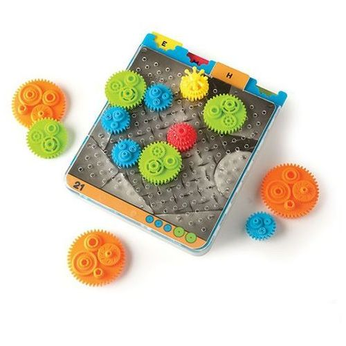 Gra logiczna Kółka Zębate Fat Brain Toys - Crankity 811802021564, 811802021564