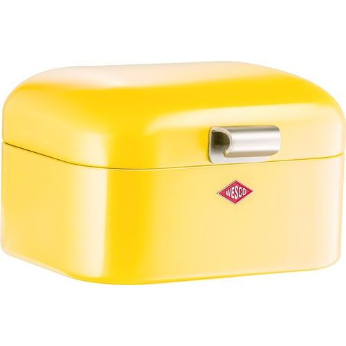 - pojemnik na pieczywo mini grandy - żółty - żółty marki Wesco