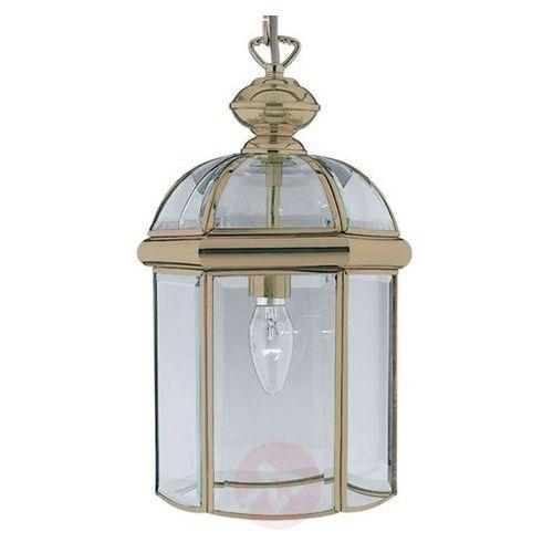 Piękna lampa wisząca ARLIND, stary mosiądz, kolor patyna,