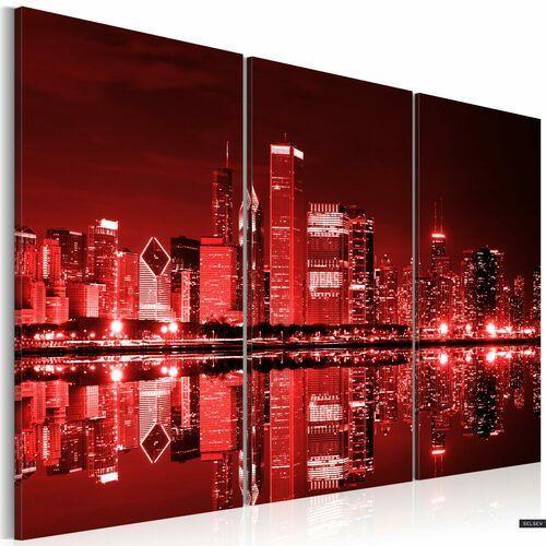 Selsey obraz - chicago w intrygującej kolorystyce 120x80 cm