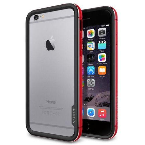 Etui SPIGEN SGP11189 do iPhone 6 (4.7) Czerwony, kolor czerwony