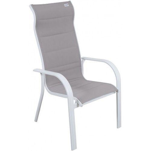 Doppler krzesło aluminiowe biały/beżowy (9003034136937)