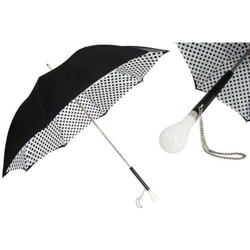 Parasol black and white polka dots, podwójny materiał, 189n 55874-2 z6 marki Pasotti