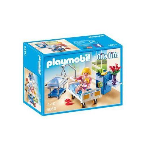 Sala chorych z łóżkiem dla niemowlaka 6660 - darmowa dostawa od 199 zł!!! marki Playmobil