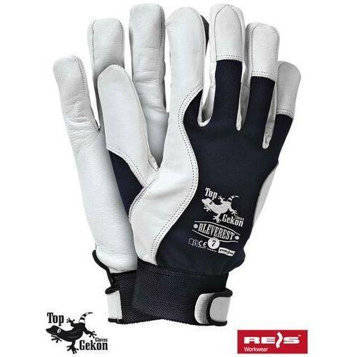 Rękawice robocze wzmacniane skórą licową rleverest marki R.e.i.s.