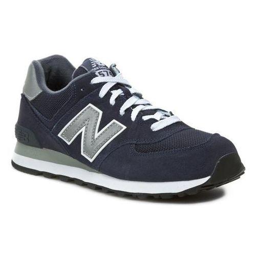 Sneakersy NEW BALANCE - M574NN Niebieski Szary