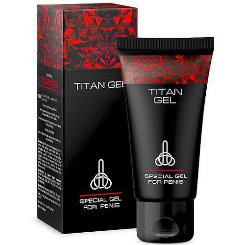 Titan gel żel na powiększenie penisa marki Hendel