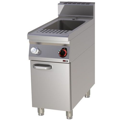 Urządzenie do gotowania makaronu i pierogów elektryczne, wolnostojące, jednokomorowe 40 l, 12 kw, 400x900x900 mm   , linia 900, vt90/40e marki Redfox