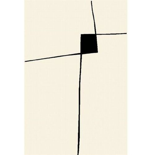 Dywan avant-garde collection double biały 80x120 marki Agnella
