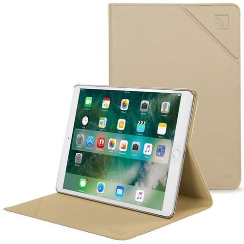 """TUCANO Minerale - Etui iPad 9.7"""" (2017) w/Magnet & Stand up (Gold) (8020252080072)"""