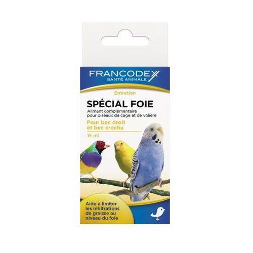 FRANCODEX Środek Dla Ptaków Ochrona Wątroby 15 ml- RÓB ZAKUPY I ZBIERAJ PUNKTY PAYBACK - DARMOWA WYSYŁKA OD 99 ZŁ (3283021740415)
