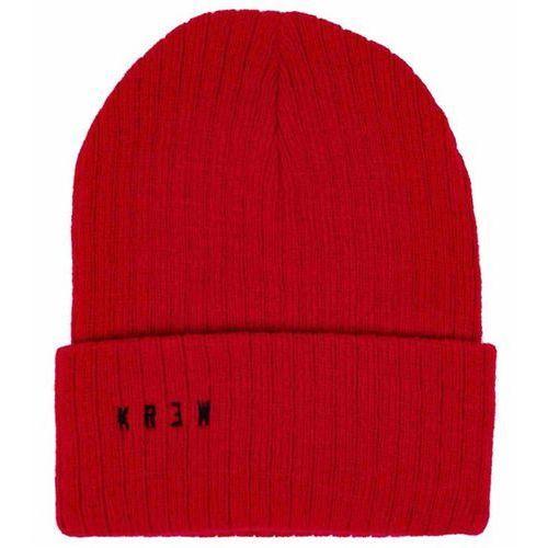 Krew Czapka zimowa  - ventura beanie red (red) rozmiar: os